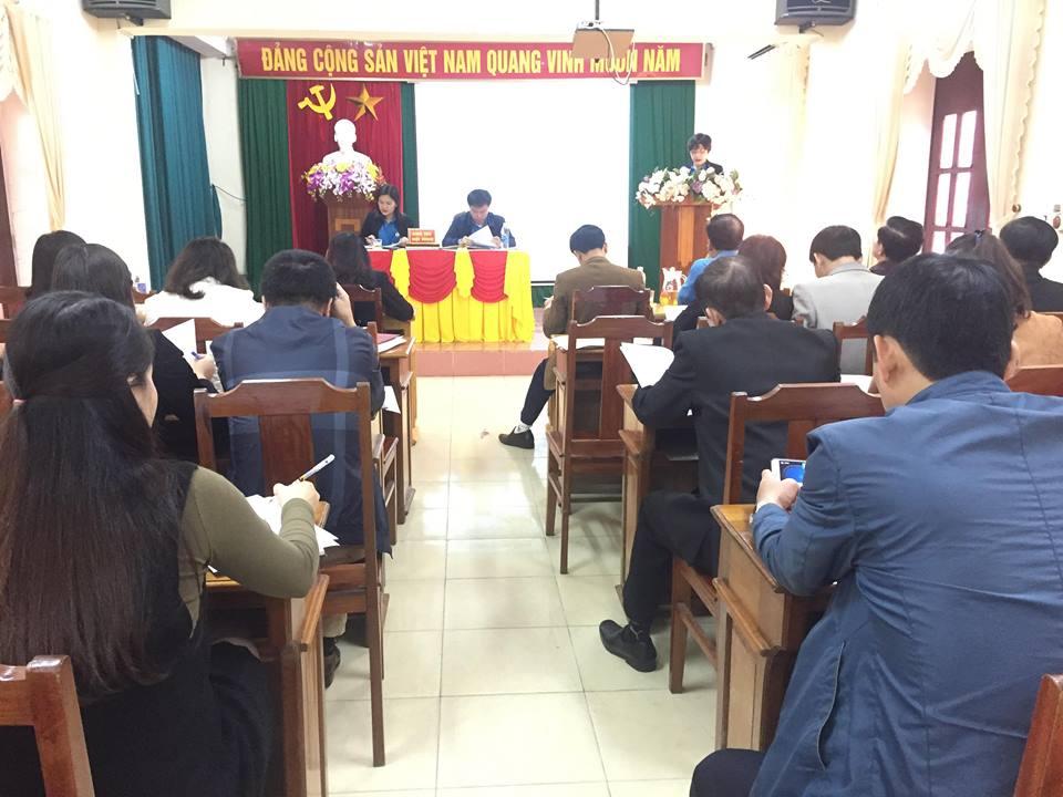 Cơ quan LĐLĐ tỉnh Hà Tĩnh tổ chức Hội nghị cán bộ công chức năm 2019