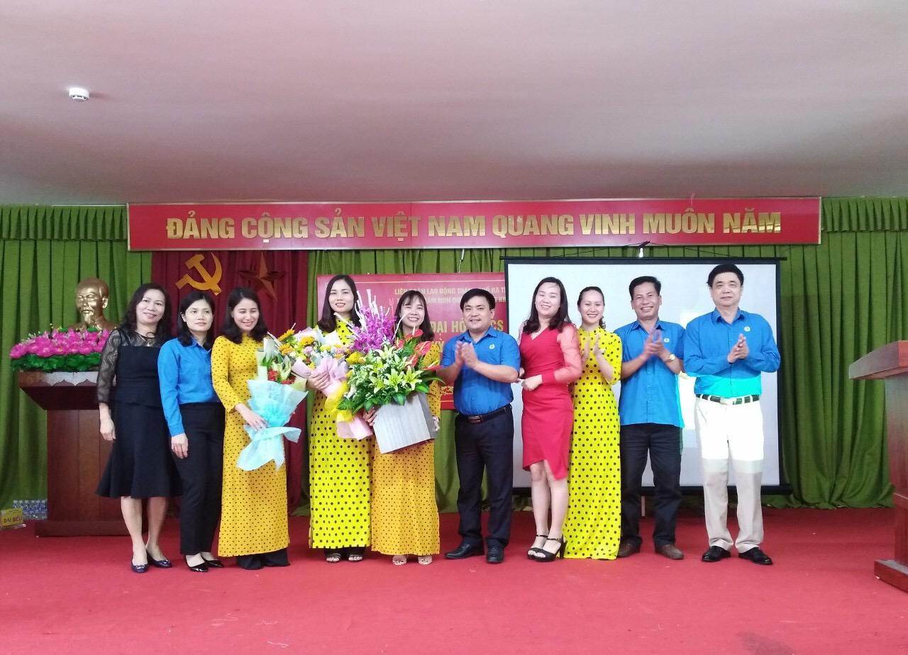 LĐLĐ Thành phố Hà Tĩnh: Chỉ đạo ra mắt và Đại hội lần thứ nhất CĐCS Trường MN Quốc tế Trung Kiên