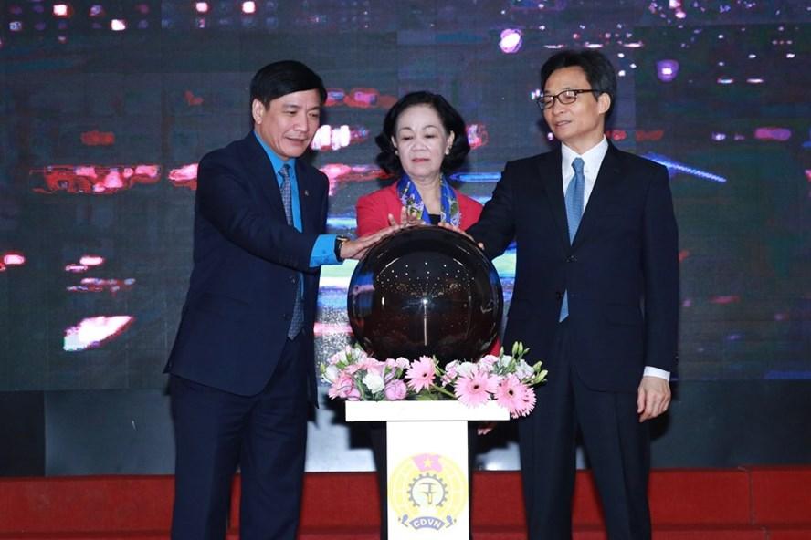 Khai trương hệ thống tư vấn pháp luật trực tuyến Công đoàn Việt Nam