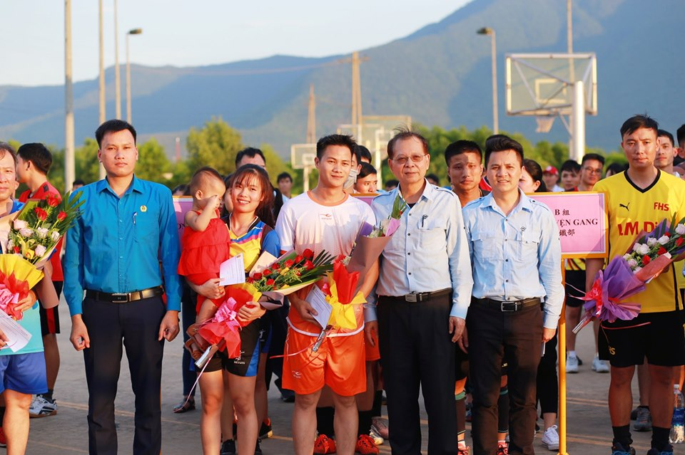 CĐCS và Công ty FHS phối hợp tổ chức giải bóng chuyền chào mừng kỷ niệm 90 năm Ngày thành lập Công đoàn Việt Nam