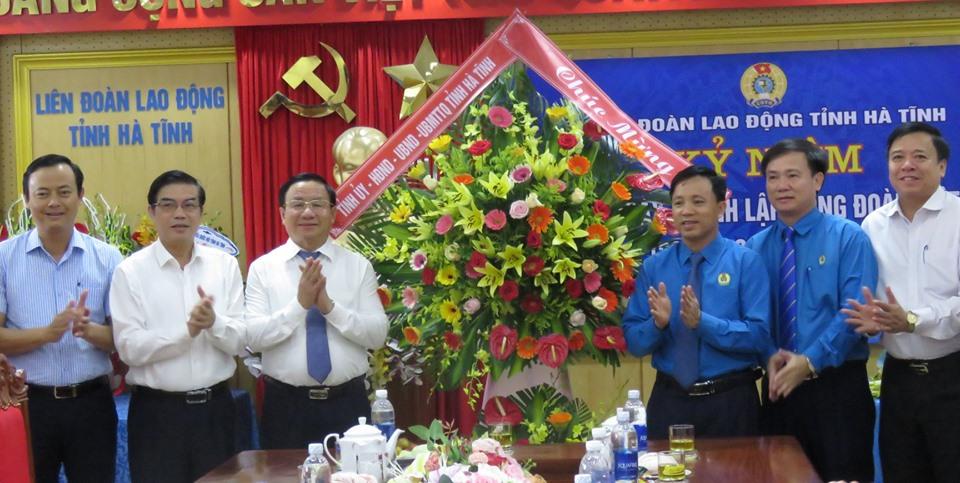 Đón nhận tình cảm quý báu nhân Kỷ niệm 90 năm Ngày thành lập Công đoàn Việt Nam