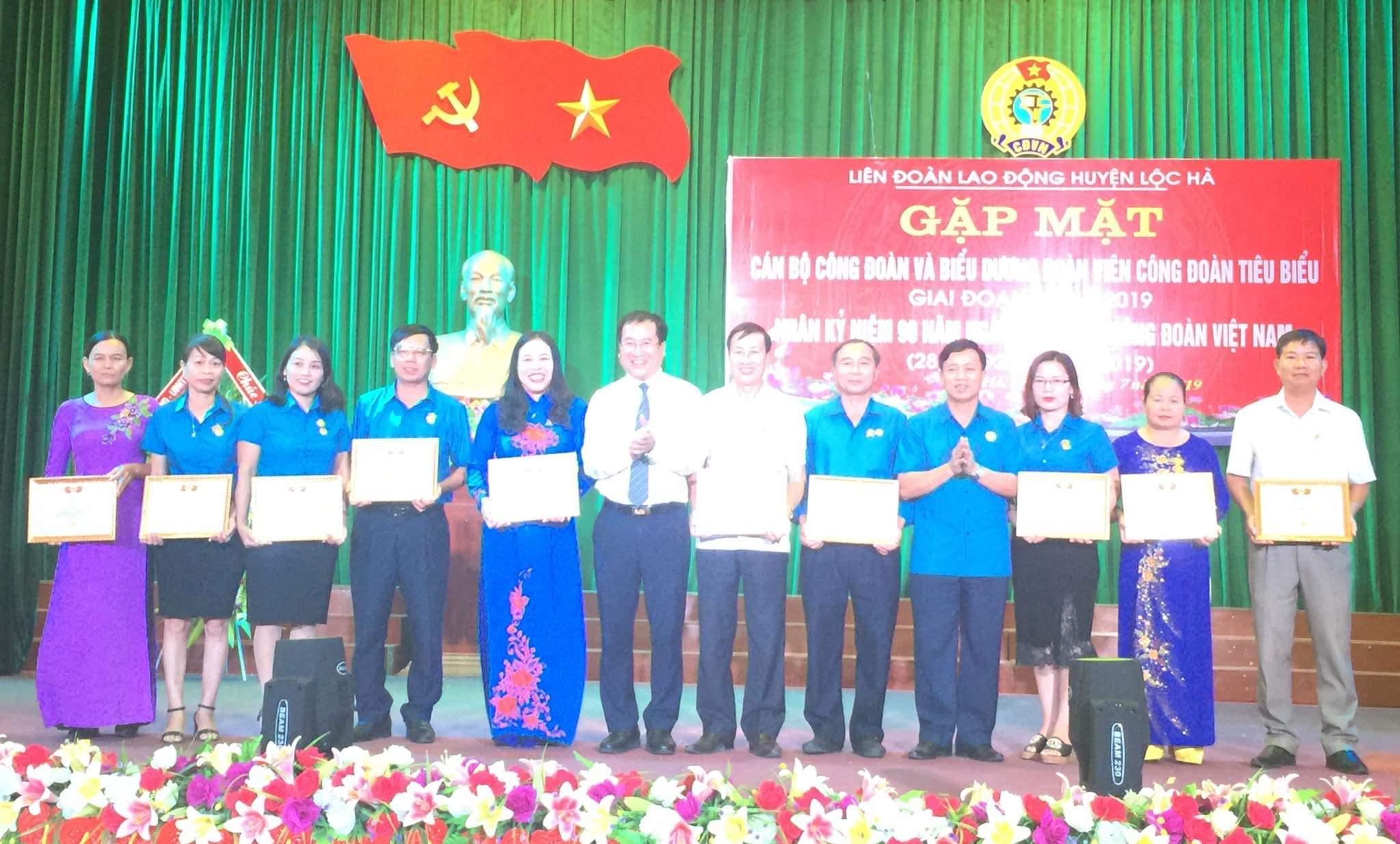 Lộc Hà: Sôi nổi các hoạt động chào mừng kỷ niệm 90 năm Công đoàn Việt Nam
