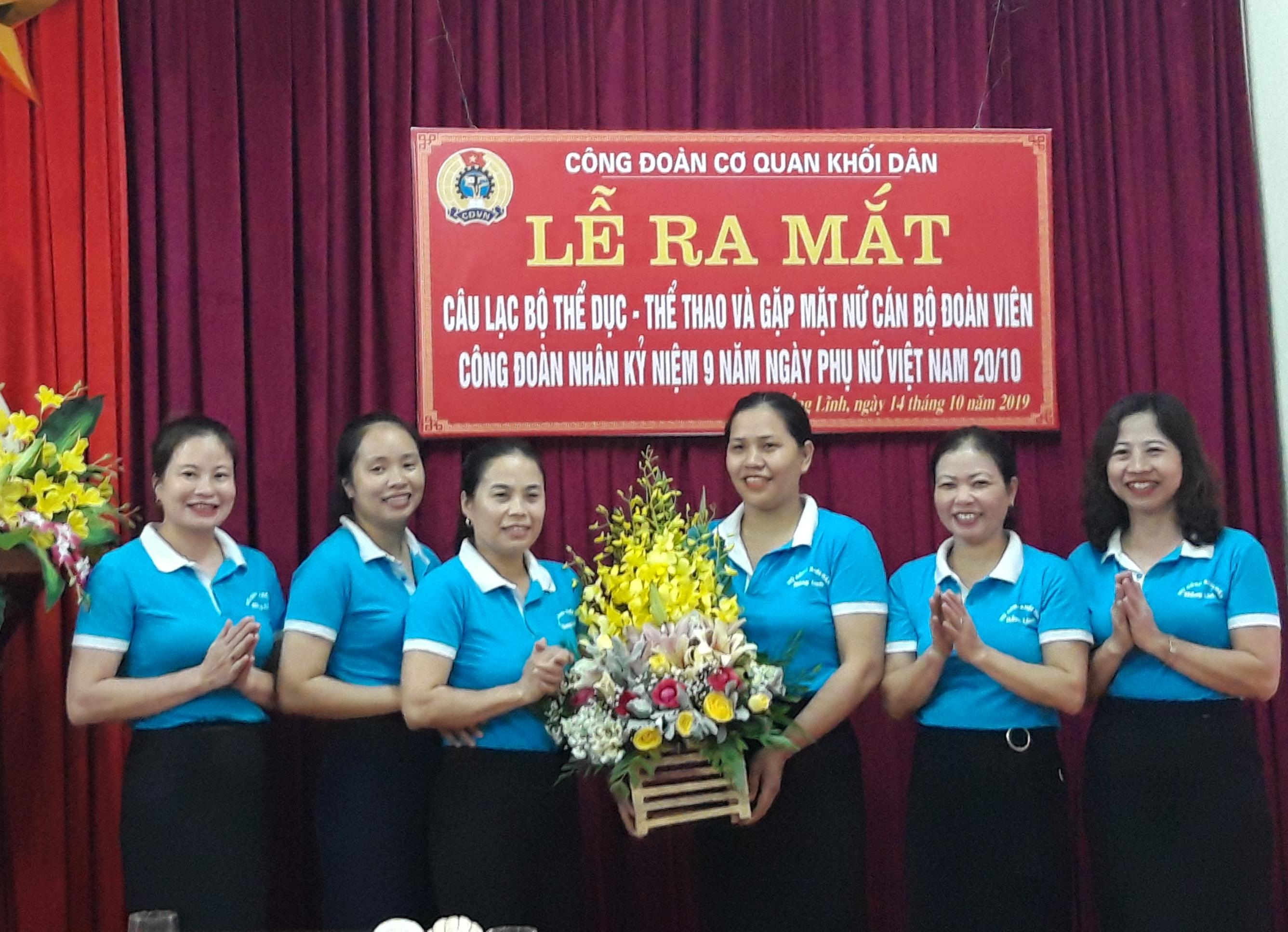 Hồng Lĩnh: Sôi nổi các hoạt động chào mừng ngày Phụ nữ Việt Nam 20/10