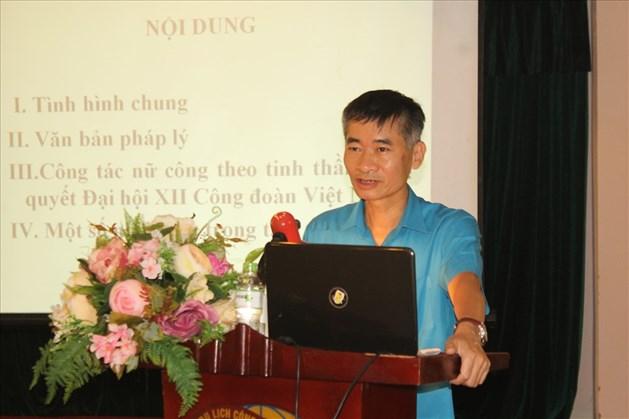 Tổng Liên đoàn Lao động Việt Nam tập huấn nghiệp vụ công tác nữ công