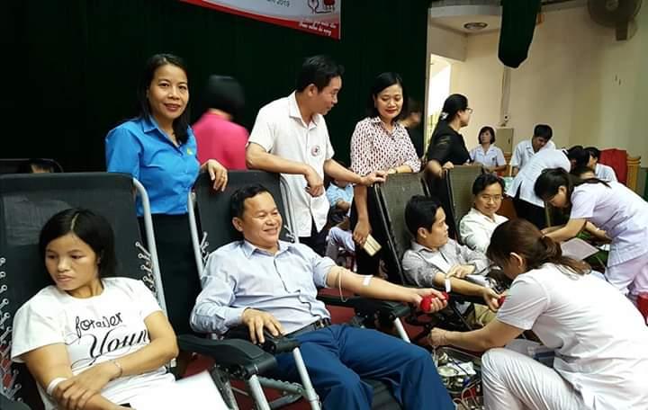 Thạch Hà: Tổ chức Ngày hội hiến máu tình nguyện đợt 2 năm 2019