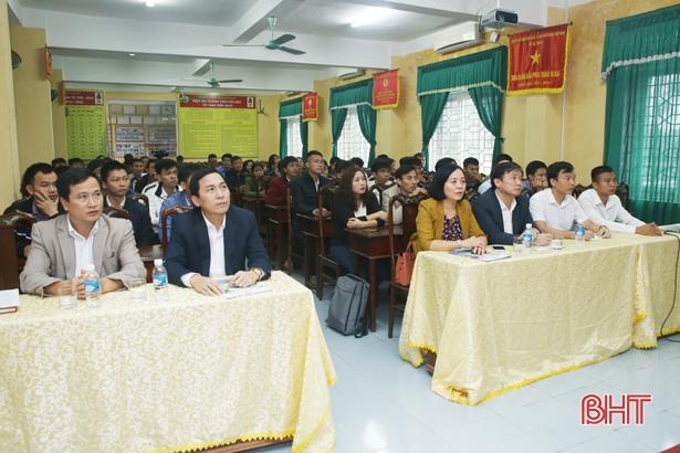 Sinh viên Hà Tĩnh học nghề điện công nghiệp theo tiêu chuẩn CHLB Đức
