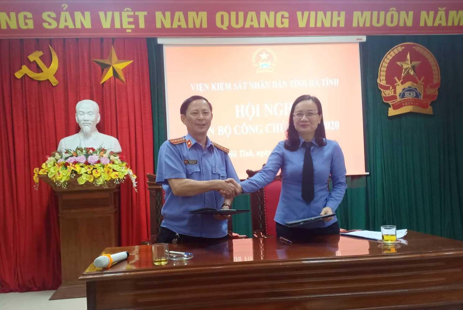Viện Kiểm sát nhân dân tỉnh Hà Tĩnh: Hội nghị cán bộ công chức năm 2020