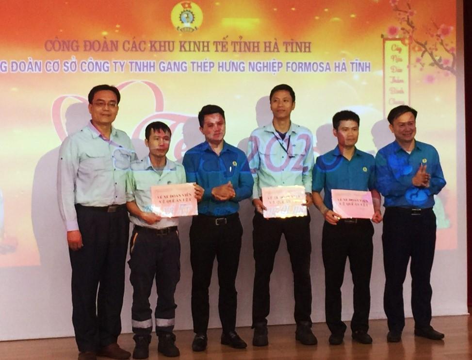 """CĐ Cty Formosa Hà Tĩnh tổ chức Chương trình """"Tết Sum vầy"""" năm 2020"""