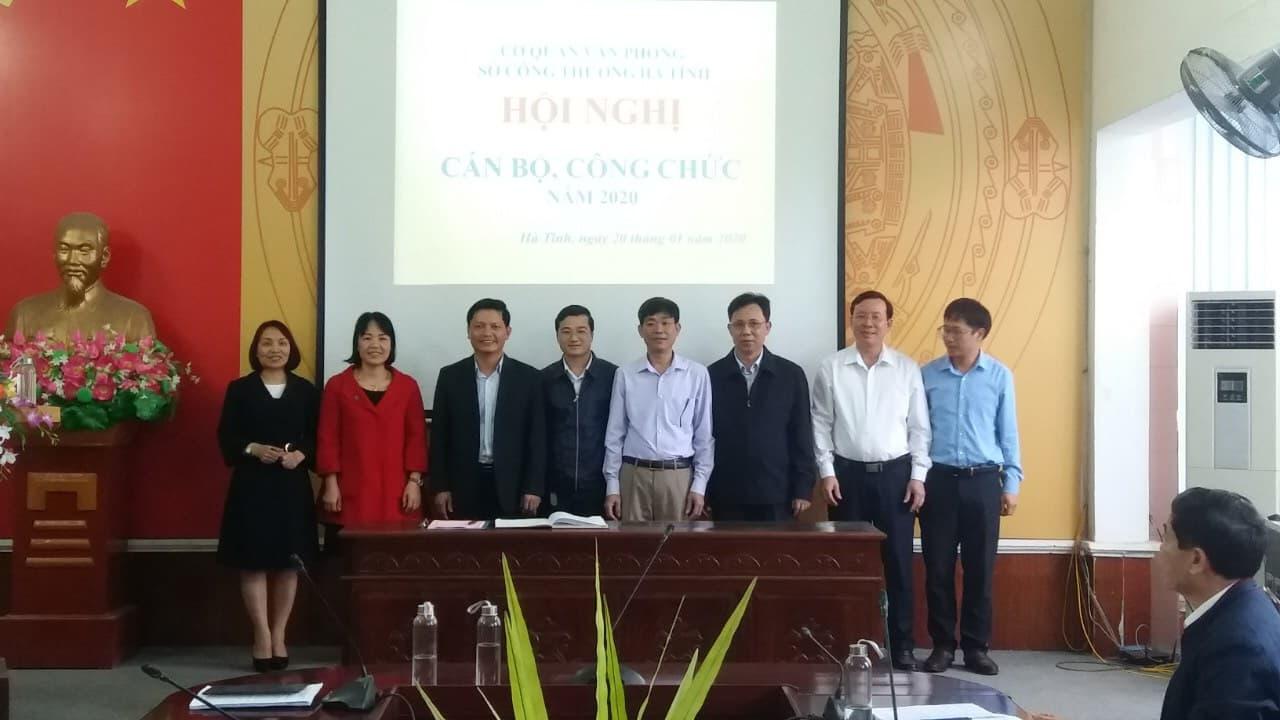 Các CĐCS thuộc CĐN Công thương phối hợp tổ chức Hội nghị CBCC năm 2020