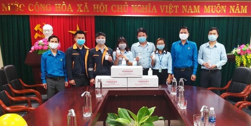 Các cấp Công đoàn các Khu kinh tế tỉnh: Tích cực tham gia phòng, chống dịch bệnh Covid-19