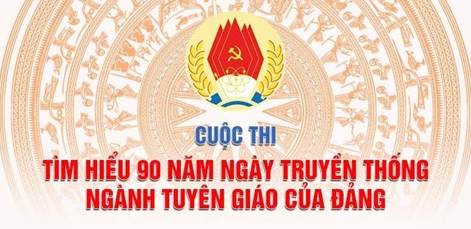 23/3: Bắt đầu tổ chức Cuộc thi tìm hiểu 90 năm truyền thống ngành Tuyên giáo trên mạng VCNET