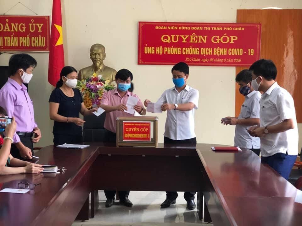 Công đoàn Hương Sơn sát cánh cùng cả hệ thống chính trị huyện nhà  xung trận chống dịch Covid-19