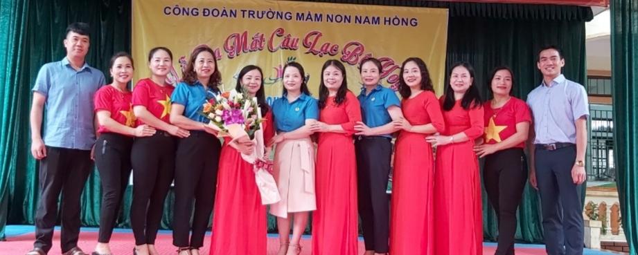 CĐ Trường MN Nam Hồng: Ra mắt Câu lạc bộ Yoga và tổ chức Ngày Quốc tế Thiếu nhi 1/6