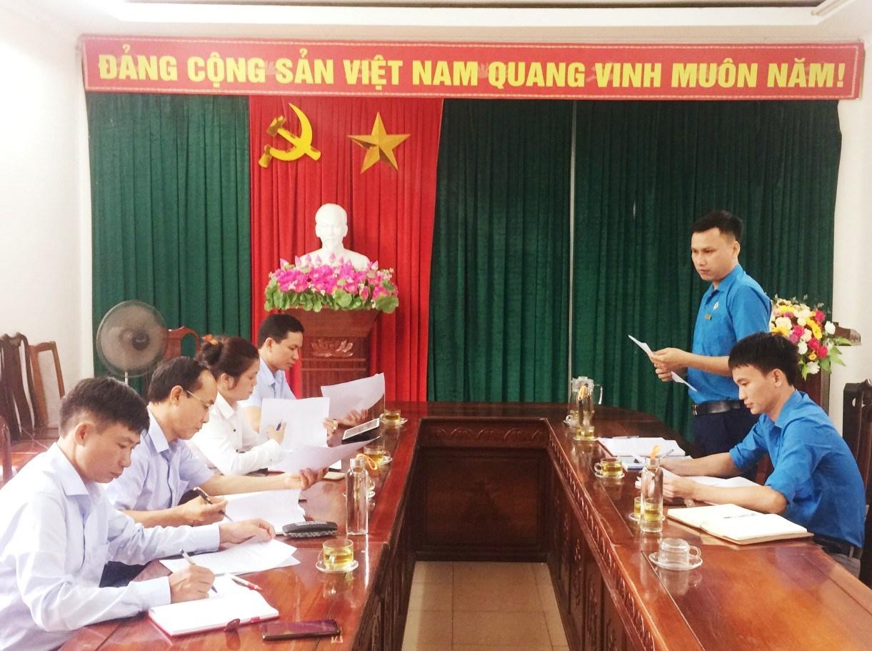 CĐ các Khu kinh tế tỉnh: Tiếp và làm việc với Đoàn công tác Đảng ủy Khối các cơ quan và doanh nghiệp tỉnh