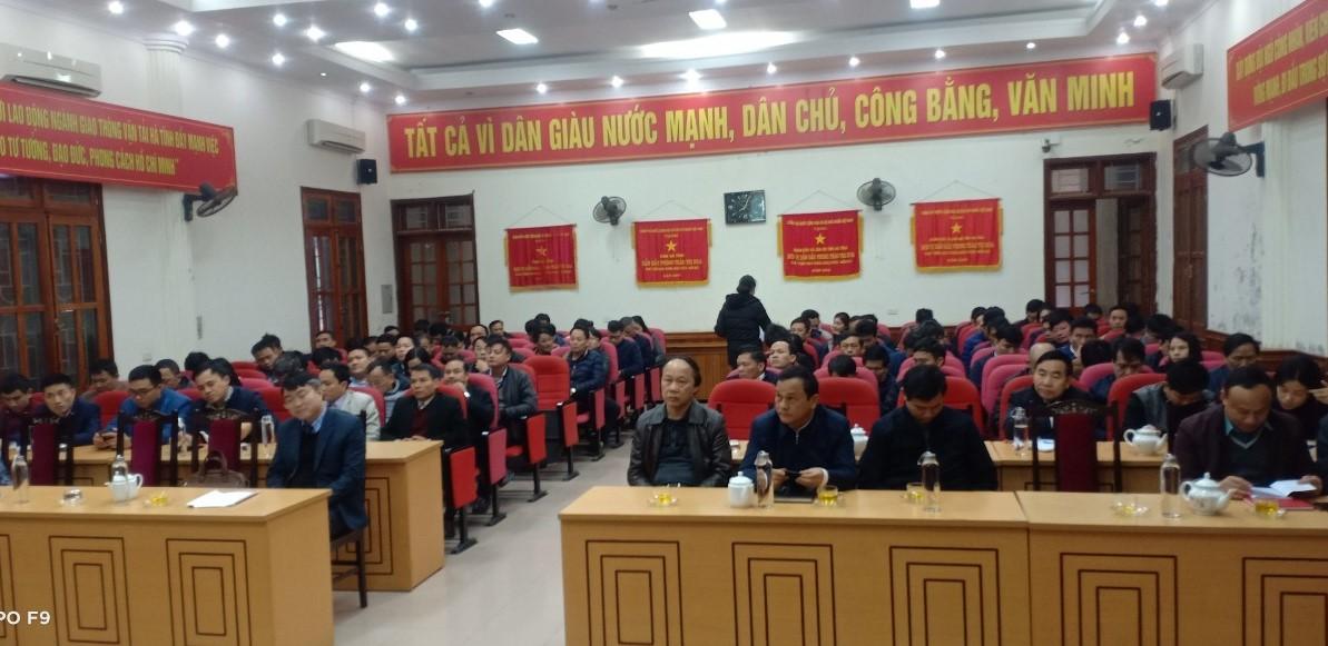 CĐN Giao thông vận tải: Phối hợp tổ chức quán triệt Nghị quyết Đại hội Đảng bộ tỉnh lần thứ XIX