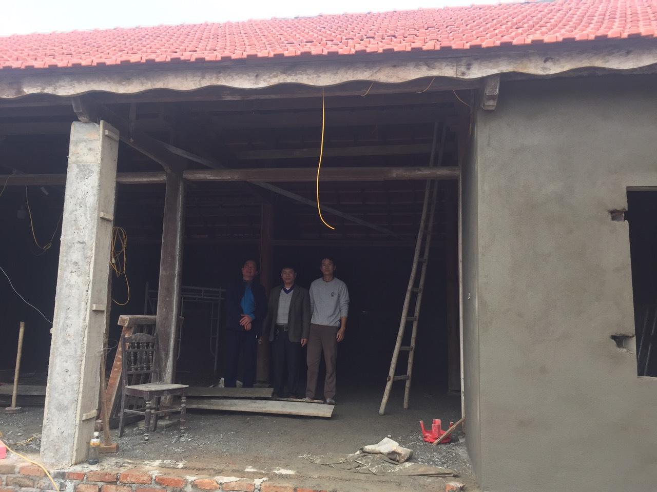 CĐN Nông nghiệp&PTNT: Khảo sát nhà Mái ấm Công đoàn cho đoàn viên có hoàn cảnh khó khăn nhân Tết Nguyên Đán Tân Sửu năm 2021
