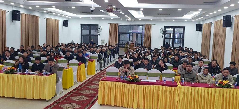 Công ty cổ phần Cấp nước Hà Tĩnh: Tổ chức tổng kết hoạt động Đảng, chuyên môn và công đoàn năm 2020.