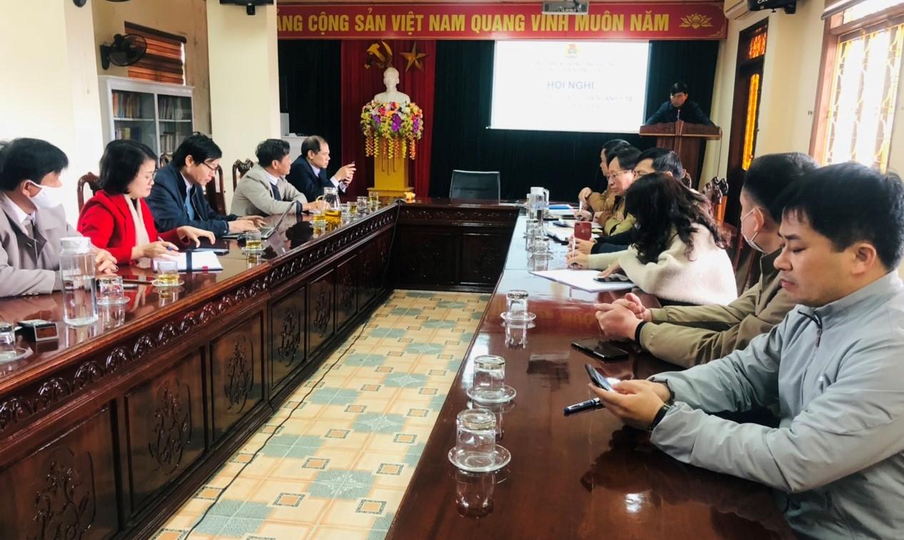 CĐN Y tế Hà Tĩnh: Tổ chức Hội nghị Ban Chấp hành lần thứ IX (khóa XIV)