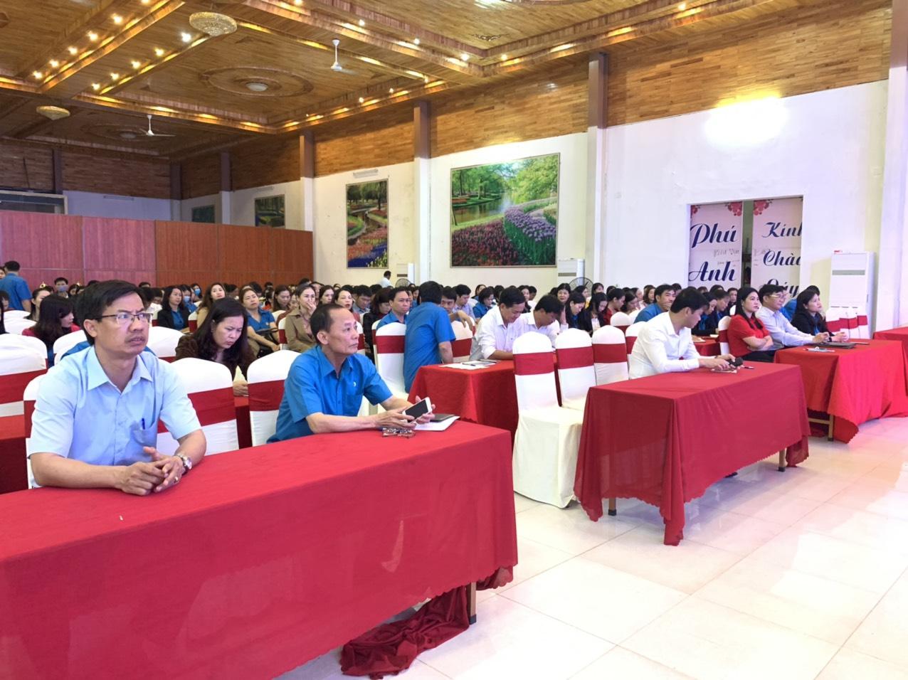 Can Lộc: Tập huấn nghiệp vụ hoạt động công đoàn cho đội ngũ cán bộ Công đoàn cơ sở