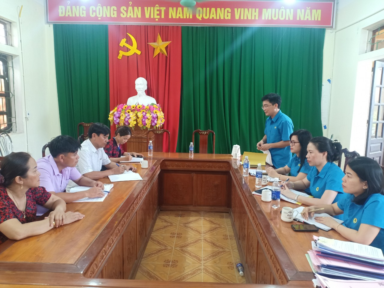 Thạch Hà: Kiểm tra hoạt động công đoàn cơ sở năm 2021