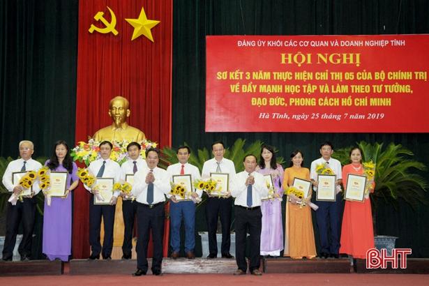 Hà Tĩnh: Bảy nhiệm vụ trọng tâm thực hiện việc học tập và làm theo tư tưởng, đạo đức, phong cách Hồ Chí Minh năm 2021