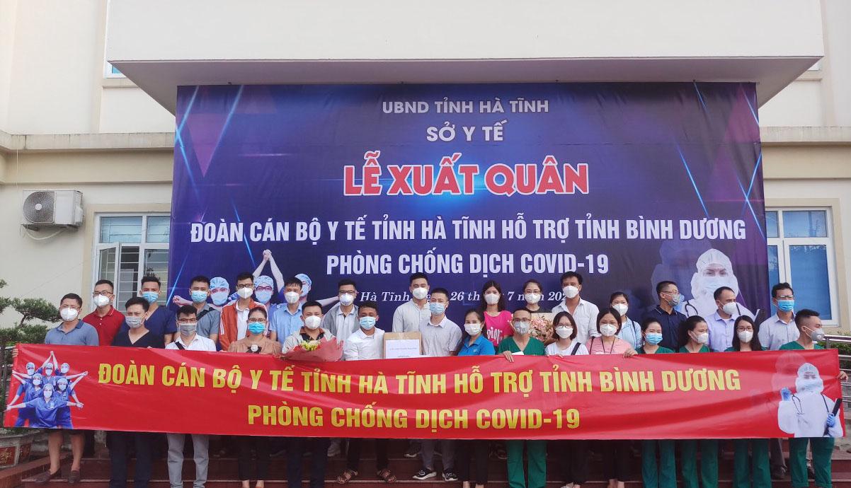 CĐN Y tế: Trao quà cho đoàn cán bộ tham gia phòng, chống dịch Covid-19 tại tỉnh Bình Dương