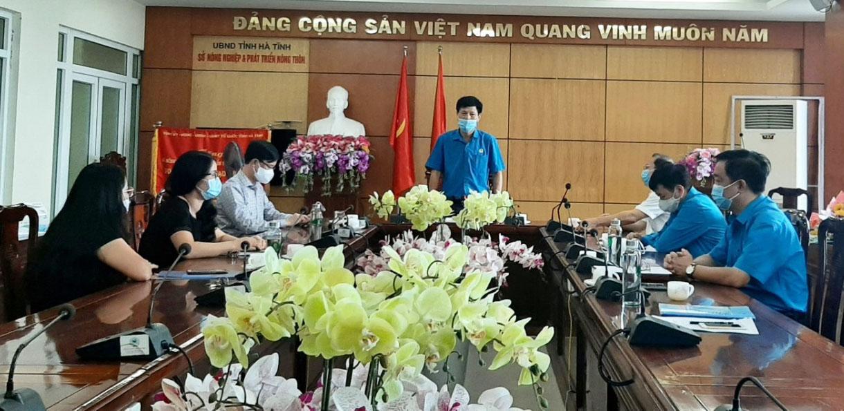 CĐN Nông nghiệp và PTNT: Hội nghị Ban Thường vụ sơ kết quả hoạt động 6 tháng đầu năm 2021
