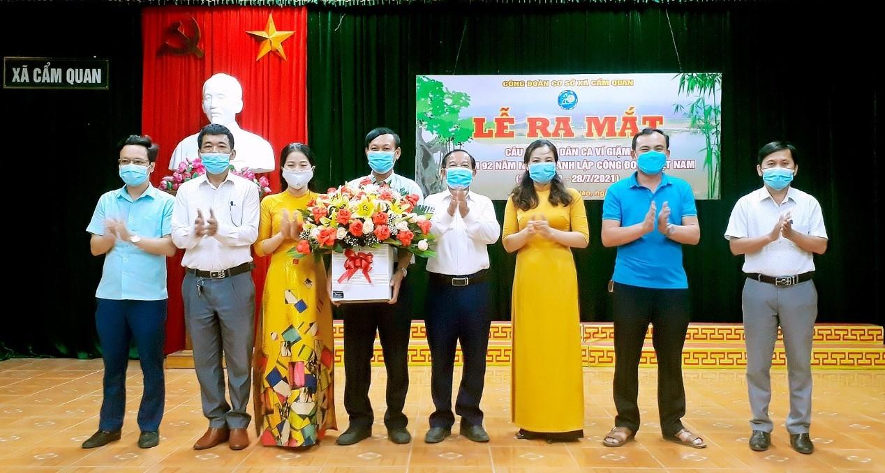 Cẩm Xuyên: Thành lập Câu lạc bộ dân ca ví dặm tại CĐCS xã Cẩm Quan