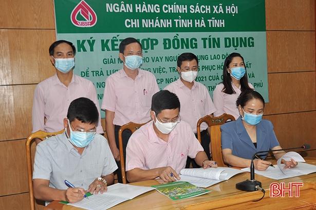Chính sách kịp thời giúp người lao động Hà Tĩnh vượt qua khó khăn