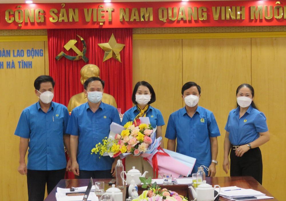 Hội nghị Ban Thường vụ Liên đoàn Lao động tỉnh thường kỳ Quý III/2021