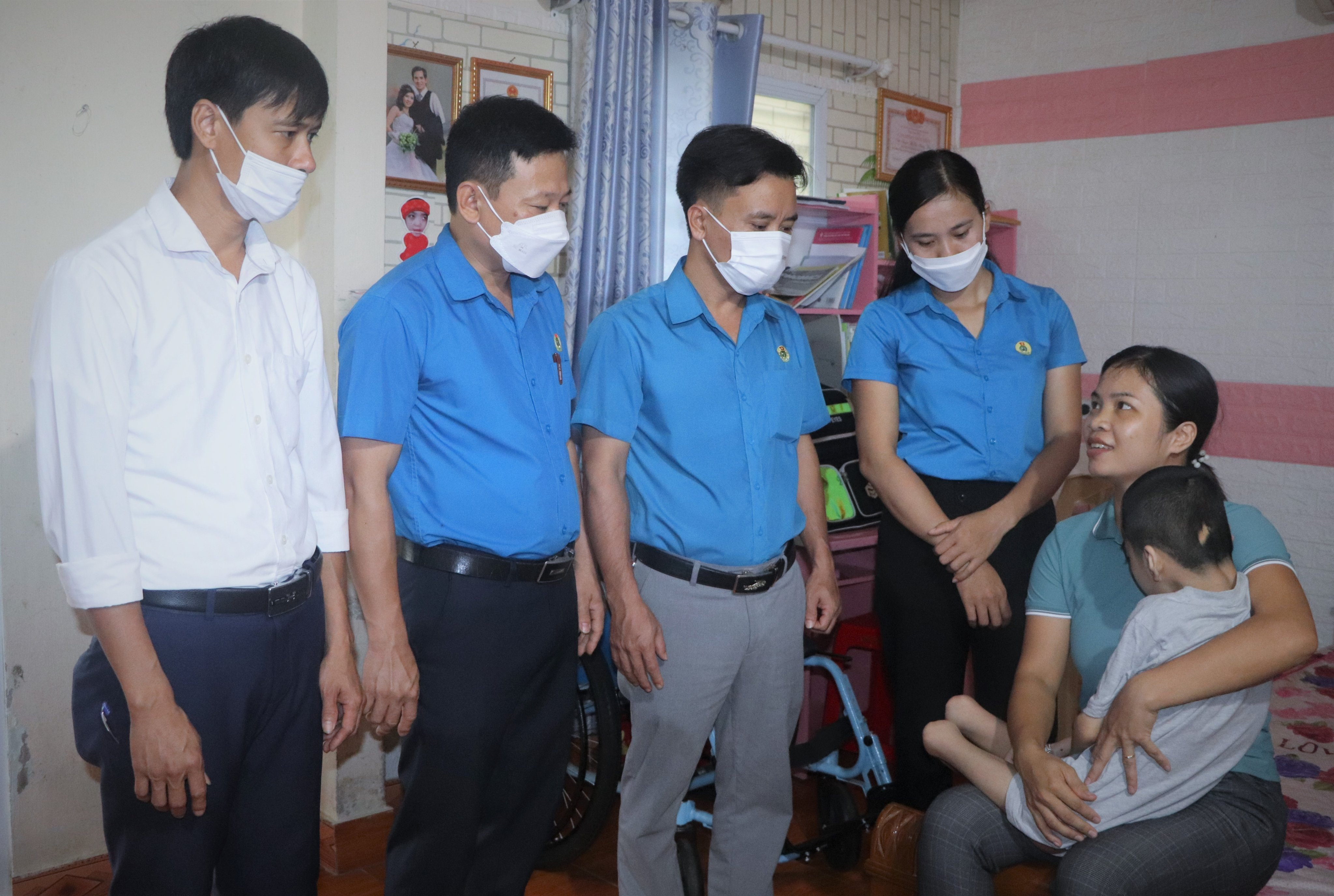 Công đoàn chăm lo, bảo vệ trẻ em trong điều kiện dịch bệnh Covid-19
