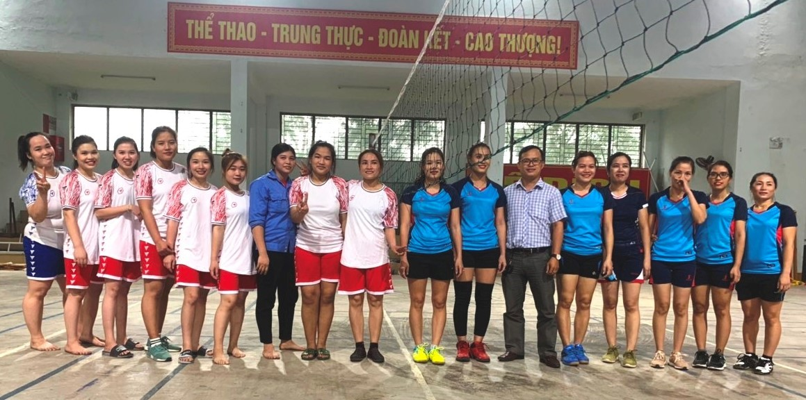 Đức Thọ: Giao lưu thể thao chào mừng Ngày Phụ nữ Việt Nam 20/10.