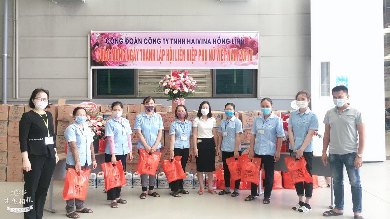 Hồng Lĩnh: Các hoạt động thiết thực nhân Ngày Phụ nữ Việt Nam 20/10