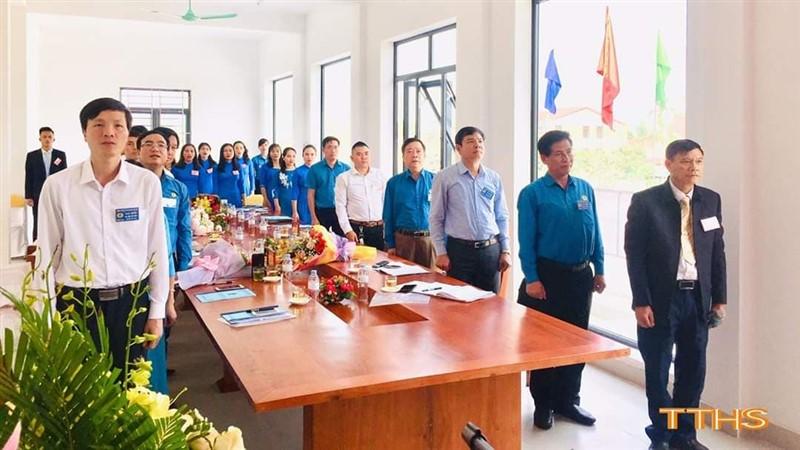 Hương Sơn: Công bố Quyết định thành lập CĐCS Quỹ tín dụng Nhân dân Liên Sơn