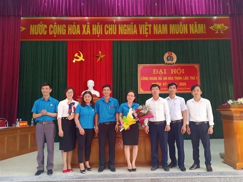 CĐCS xã An Hòa Thịnh tổ chức Đại hội điểm nhiệm kỳ 2020 - 2025