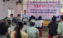Cẩm Xuyên: Tập huấn Bộ luật Lao động sửa đổi gắn với huấn luyện ATVSLĐ