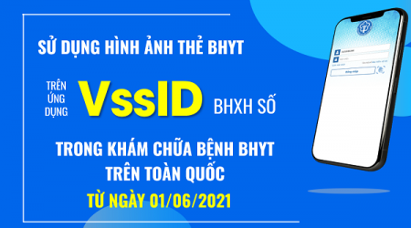Chính thức sử dụng hình thẻ Bảo hiểm Y tế trên ứng dụng VssID-BHXH số trong khám chữa bệnh Bảo hiểm Y tế từ ngày 01/6/2021