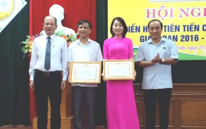 Chi bộ CĐ Giáo dục Hà Tĩnh xuất sắc trong học tập, làm...