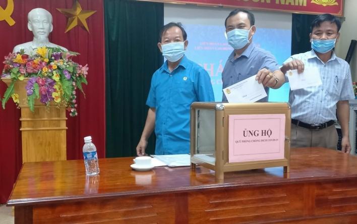 Cẩm Xuyên: Các cấp công đoàn chung sức đẩy lùi dịch bệnh...