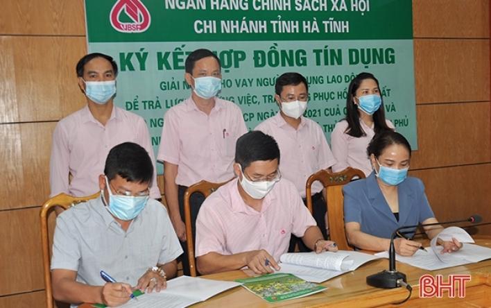Chính sách kịp thời giúp người lao động Hà Tĩnh vượt qua...