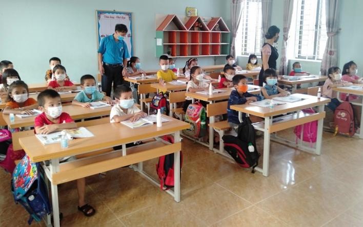 """CĐ Trường tiểu học Sơn Ninh nâng cao hoạt động """"Tổ Covid..."""