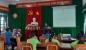 CĐCS Trường MN Ngọc Sơn: Kết nạp đoàn viên và ra mắt Câu lạc bộ Dân ca ví dặm