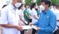 LĐLĐ tỉnh động viên, tặng quà các y, bác sỹ vào hỗ trợ chống dịch Covid-19 tại tỉnh Bình Dương